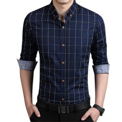 Maiya Collection Party Wear Men Striped Shirt, Packaging Type: Poly Bag