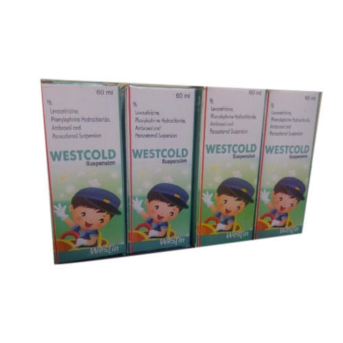 Westcold Suspension Syrup, Packaging Type: Box, Packaging Size: 60 Ml