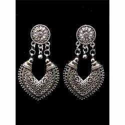 Oxidized Designer Earrings