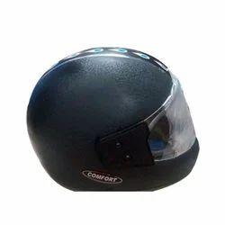 Comfort Polycarbonate Black Full Face Bike Riding Helmet