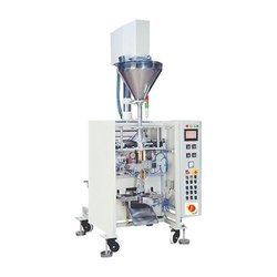 Automatic Auger Filler Collar Pouch Packing Machine