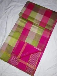 6.3 m (with blouse piece) Kanchepuram Silk Sarees Tirupura Handloom Saree