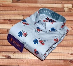 Allen Tucker Printed Mens Shirt