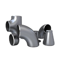 Butt Weld Fittings, Structure Pipe And Gas Pipe