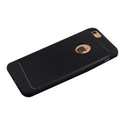Acrylic Black Iphone Mobile Back Cover