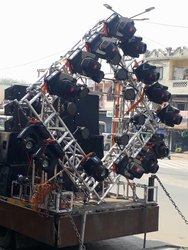 Woden Material Ahuja Dj System, 90db, for Small Event