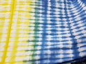 Tie Dye Handmade Shibori Blue Fabric Dress Making Fabric