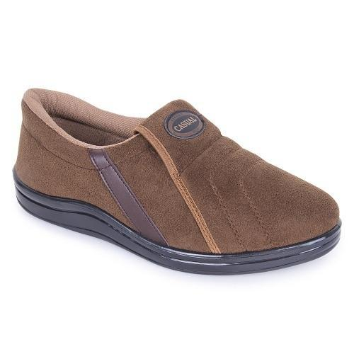 072dc406155 Daily Wear PU Mens Golden Brown Casual Shoes