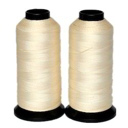 Cream Color PTFE Coated Fiberglass Thread, For Sewing