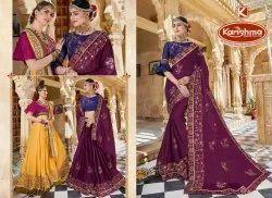 Designer Embroidery Work Saree - Mandira