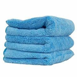 Plain Grey Microfiber Towel