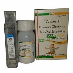 Cefixime & potassium Clavulanate for oral Suspension