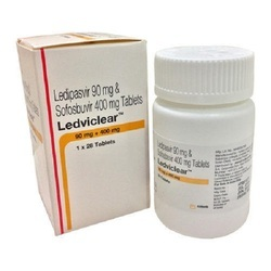 Ledviclear Tablet 90mg/400mg - Ledipasvir And Sofosbuvir