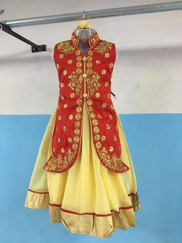 7010a692731e Baby Girl Indo Western Gown