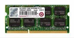 4 GB Transcend 4gb Ddr3 1600Mhz Laptop