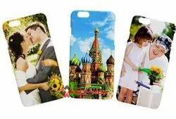 Plastic White 3D Sublimation Mobile Covers, Size: Phone Size