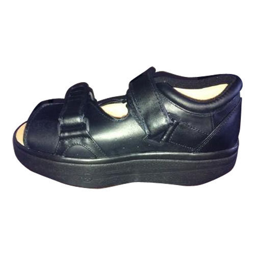 599e493f423 Black Men Diabetic Sandal