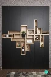 Modular Wooden Wall Shelves