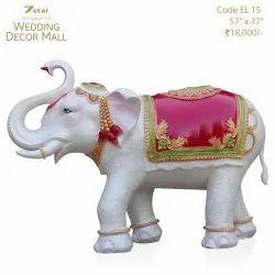 EL15 Fiberglass Elephant