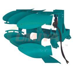URP SC-375 Single Cylinder 3 Bottom Reversible Plough