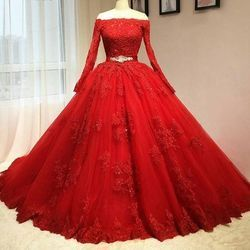 Red Party Wear Wedding Wear Party Gown Rs 1995 Piece Crystal Dresses Id 17747796030,Affordable Wedding Dresses Uk