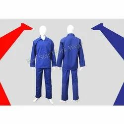 Full Sleeves Plain Industrial Poly Cotton Pant Jacket, Model Name/Number: RS0SP001