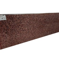 Polished Red Granite Stone, For Flooring, Thickness: 15-20 mm