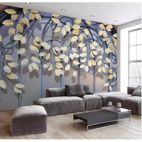 Paper Decoration 3d Designer Wallpaper Rs 80 Square Feet Home Decor Furnishing Id 21388791255