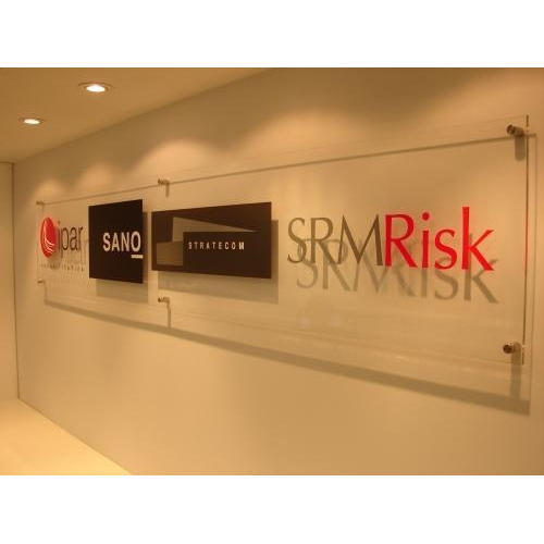 Acrylic Glass Board - Acrylic Sign Board Manufacturer from