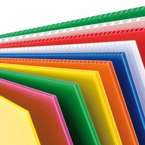 Optional Colored PP Corrugated Sheet, Size: 6/4 Feet, Rs 28 ...