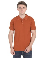 Mens Promotional Corporate Polo Neck T Shirt