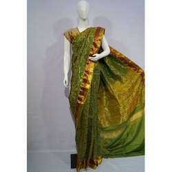 Kancheepuram Silk Multicolor Silk Saree