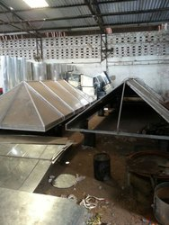 Industrial Machine Exhaust Hood