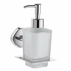 Urban Manual Glass Liquid Soap Dispenser, For Bathroom