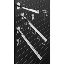 Slat Wall with Channels