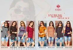 Kanika Aleeza Vol 2 Rayon Printed Short Tunics