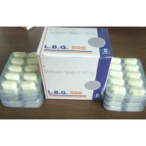 Bonsai Tablet Levofloxacin Tablets Ip Packaging Type Box Rs 30 Strip Id 20617998462