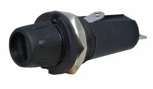 fuse box black black inverter fuse holder  packaging type box  rs 6 piece id  black inverter fuse holder  packaging