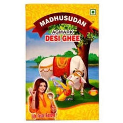 Madhusudan Desi Ghee, Packaging Type: Paper Box