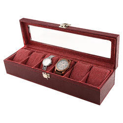 06  Red Wine Watch Organizer