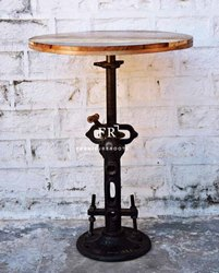 Vintage Bar Table for Restaurant & Cafes