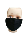 Reusable Black Net Face Mask, Number Of Layers: 3