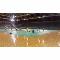 Indoor and Outdoor Glossy Volleyball Sports Court Flooring Services