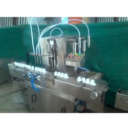 Automatic 4 Head Liquid Machine