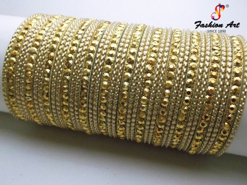 Golden Metal Bangles