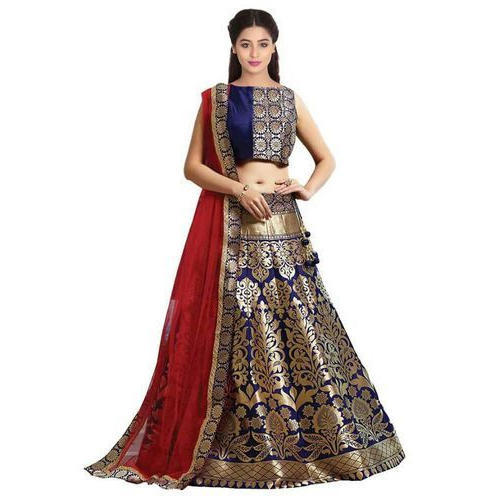 94b060f687bcf Multicolor Festive Wear Embroidery Chaniya Choli