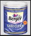 Berger Easy Clean Interior Paint, Packaging Type: Bucket