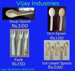 Areca spoon