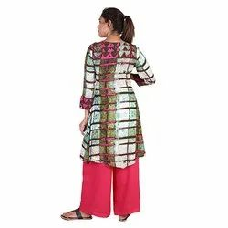 Casual Wear Ladies Rayon Kurti