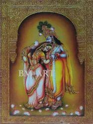 Tanjore Radha Krishna Painting